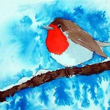 The Winter Robin by PatEll