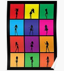 Girls Girls Girls Poster