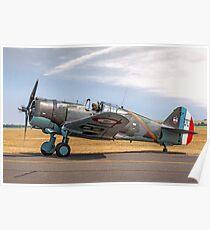 Curtiss Hawk 75-C1 No 82 G-CCVH Poster