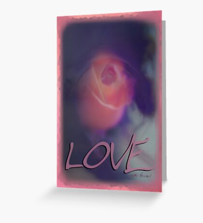 Simply Love © Vicki Ferrari Photography Greeting Card