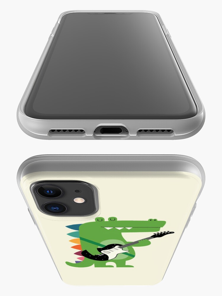 Alternate view of Croco Rock iPhone Case & Cover