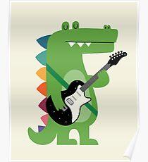 Croco Rock Poster