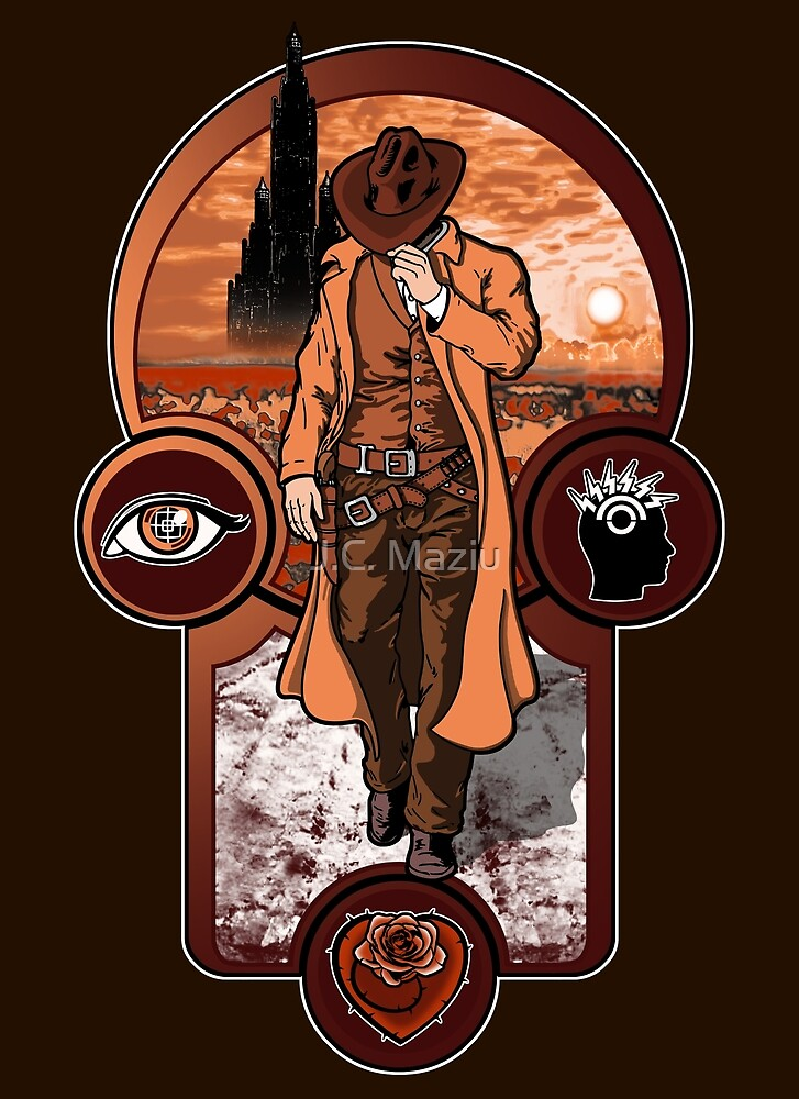 The Gunslinger's Creed. by J.C. Maziu