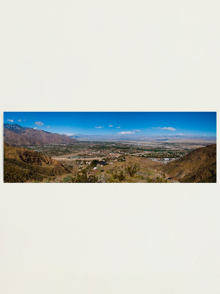 Alternate view of Palm Springs, CA, at Noon Photographic Print