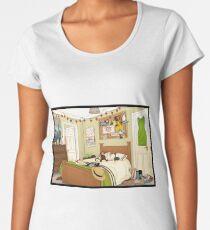 Ein barenaked Schlafzimmer Premium Rundhals-Shirt