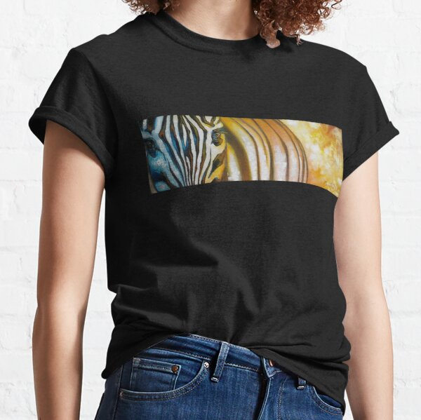 Zebra at Sunset Classic T-Shirt