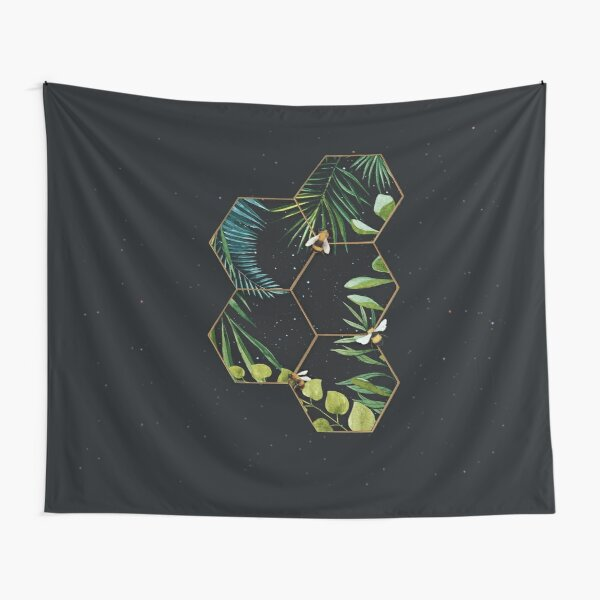 Bee Green Tapestry