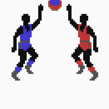 Old School - Basketball by SpazzyPC