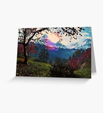 Paradise on Earth Greeting Card