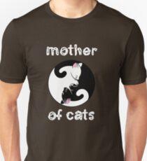 Camiseta unisex Madre de los gatos