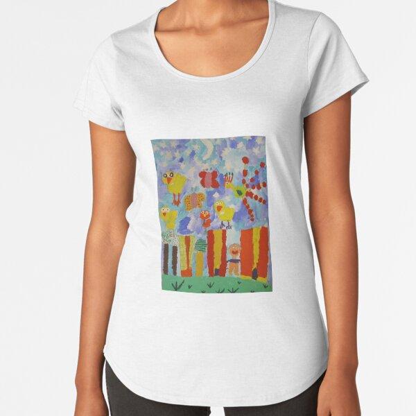 children's paintings Premium Scoop T-Shirt