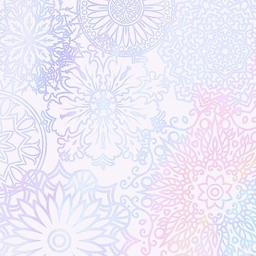 Spring delight mandala by peggieprints