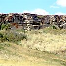 The Buffalo Jump Cliffs by George Cousins
