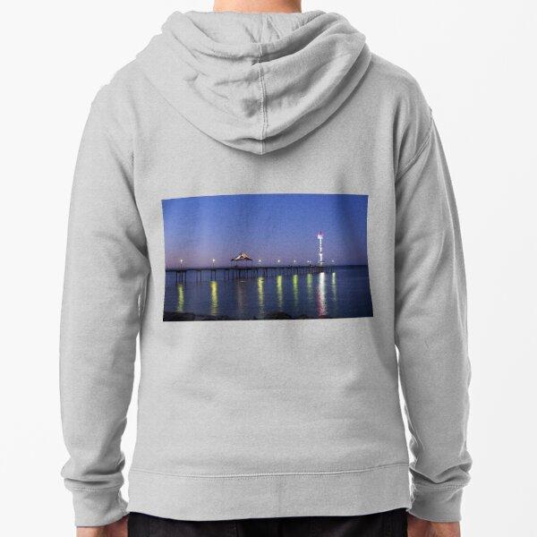 Brighton jetty Zipped Hoodie