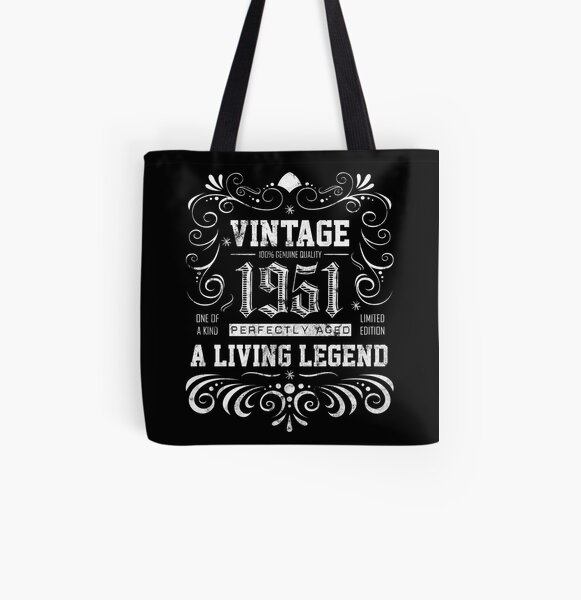 67th Birthday Gift Bag Tote Mam Shopping Limited Edition 1953 All Original Parts