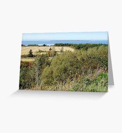 Rural Quebec Farm (2) Greeting Card