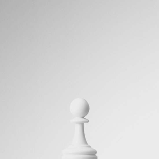 GAME OF THE THRONE / THE WHITE PAWN von Daniel Coulmann
