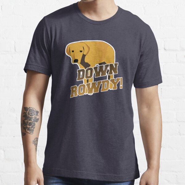Down Rowdy the Dog Essential T-Shirt