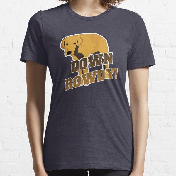 Down Rowdy the Dog Essential T-Shirt