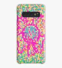 Abstract Flower Case/Skin for Samsung Galaxy