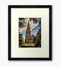 St Mary Mortimer Framed Print