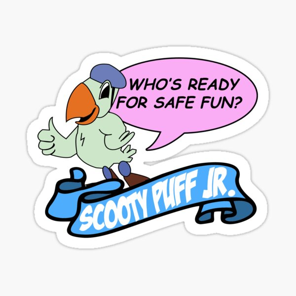 Scooty Puff Jr Sticker