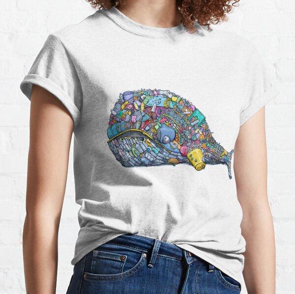 Plastic Trash Whale Classic T-Shirt