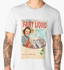 Vintage Dishwashing Liquid Advert - Circa 1950's Men's Premium T-Shirt