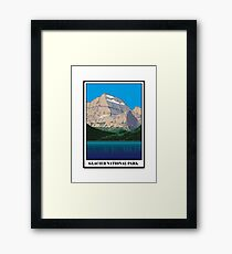 Crown of the Continent Framed Print
