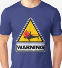 Sharks with Frikkin Laser Beams Slim Fit T-Shirt