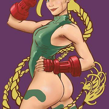 Luchadora Sexy de DibujarBien