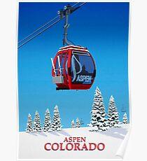 Aspen Ski Resort Poster