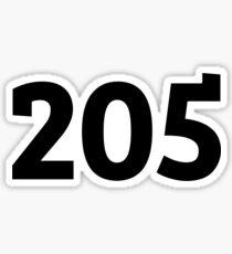 205 Sticker