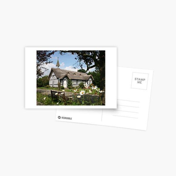 Thatched Church Postcard