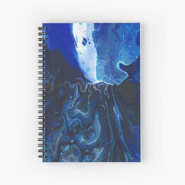 Abstraction 20 - Ourania Spiral Notebook