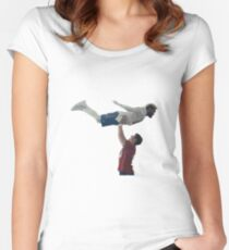 NFL Commercial Superbowl 2018 Odell Manning Dirty Dancing Women's Fitted Scoop T-Shirt