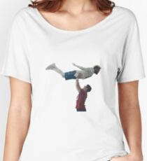 NFL Commercial Superbowl 2018 Odell Manning Dirty Dancing Women's Relaxed Fit T-Shirt