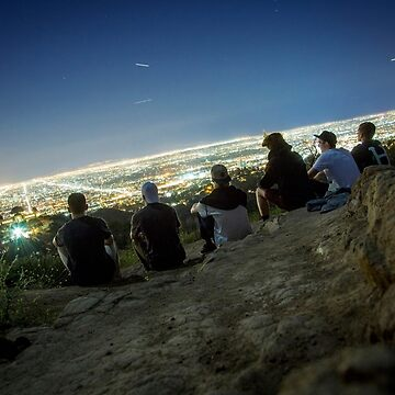 Enjoying the view of LA by clemphoto