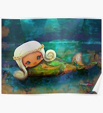CHUNKIE Mermaid Poster