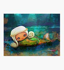 CHUNKIE Mermaid Photographic Print