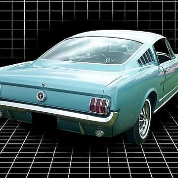 1965 Ford Mustang Fastback by bicycleguy