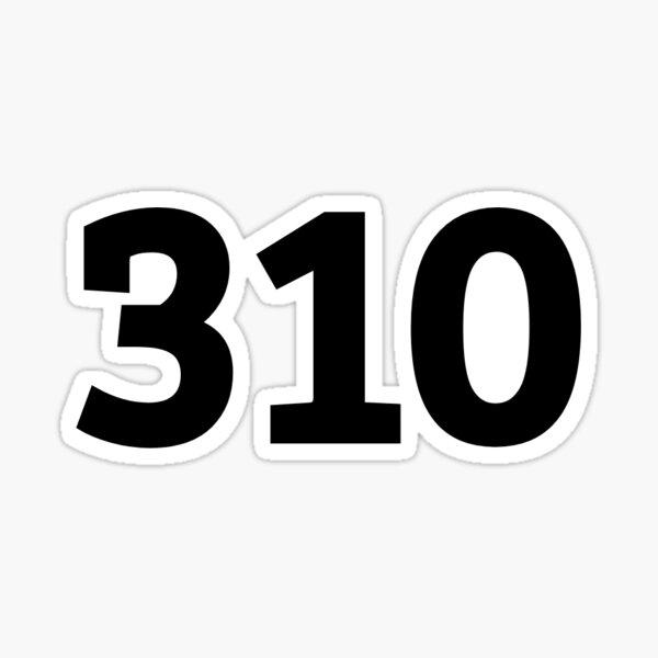310 Sticker