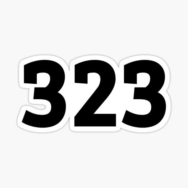 323 Sticker