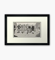 The Crew Framed Print