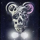Mechanics Skull by Ali Gulec