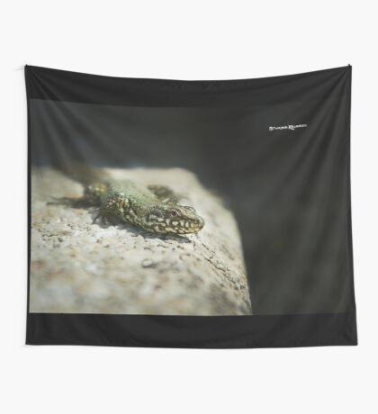 The Lizard King on The Spot Wall Tapestry