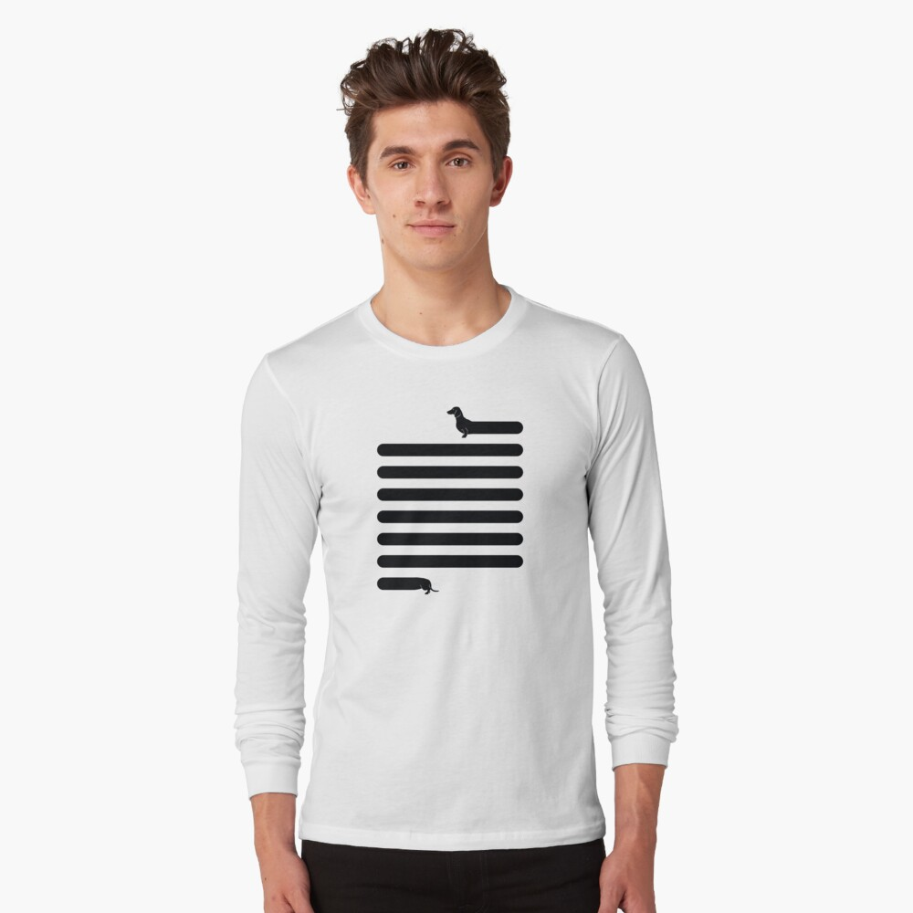 (Very) Long Dog Long Sleeve T-Shirt