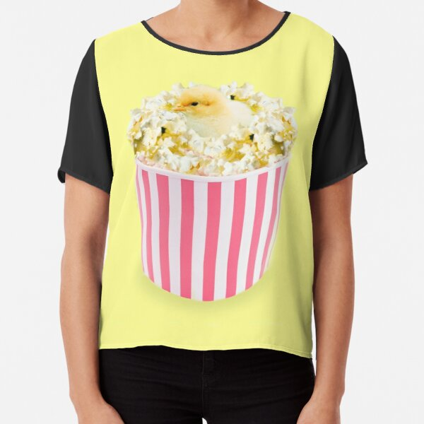 Little Chicken Popcorn by Alice Monber Chiffon Top