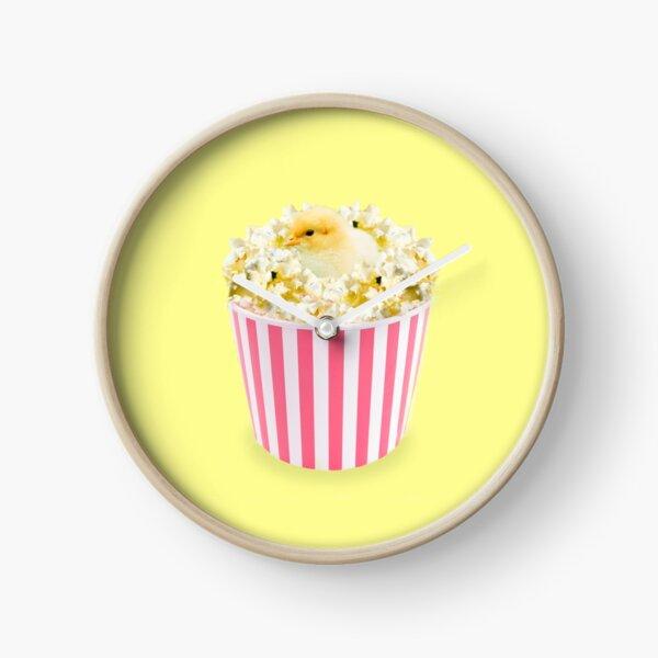 Little Chicken Popcorn by Alice Monber Clock