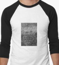 Zen crosshatching Men's Baseball ¾ T-Shirt